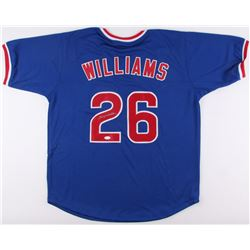 Billy Williams Signed Cubs Jersey (JSA COA)