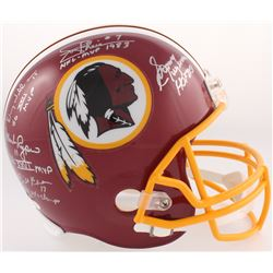 Redskins Full-Size Helmet Signed by (5) with Billy Kilmer, Mark Rypien, Joe Theisman, Sonny Jurgense