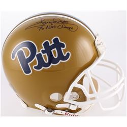 """Tony Dorsett Signed Pittsburgh Panthers Full-Size Authentic On-Field Helmet Inscribed """"76 NATL Champ"""