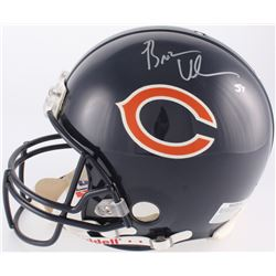 Brian Urlacher Signed Bears Full-Size Authentic Pro-Line On-Field Helmet (Schwartz Hologram  Brian U