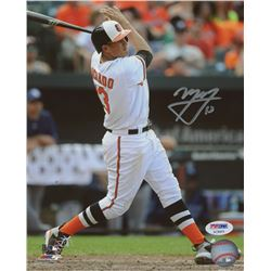 Manny Machado Signed Orioles 8x10 Photo (PSA COA)