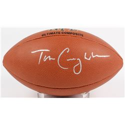 Tom Coughlin Signed NFL Football (Beckett COA)