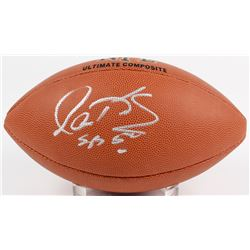 Gary Kubiak Signed NFL Football (Beckett COA)