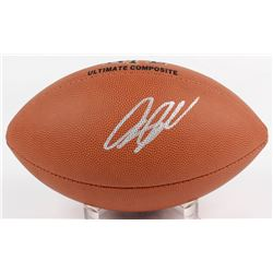 Greg Olsen Signed NFL Football (Beckett COA)