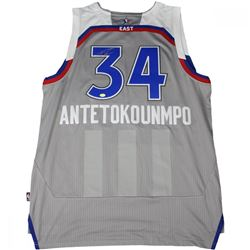 Giannis Antetokounmpo Signed All-Star Jersey (Steiner COA)