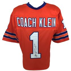"Henry Winkler Signed ""The Waterboy"" Coach Klein Football Jersey (JSA COA)"