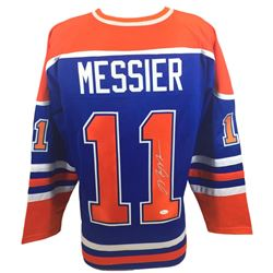 Mark Messier Signed Oilers Jersey (JSA COA)