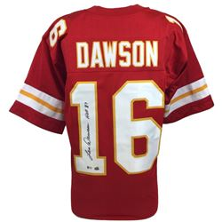 "Len Dawson Signed Chiefs Jersey Inscribed ""HOF 87"" (Beckett COA)"