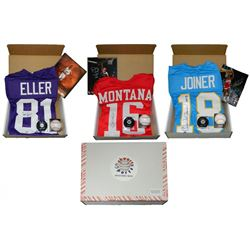Hall of Fame Enshrinement Mystery Box - Series 1 (Limited to 75) (4 Hall of Famer Signed Items Per B