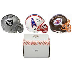 Schwartz Sports Football Superstar Signed Mini Helmet Mystery Box - Series 5 (Limited to 100)