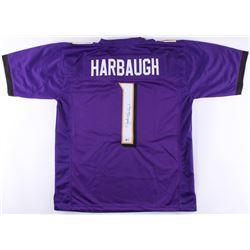 John Harbaugh Signed Ravens Jersey (Beckett COA)