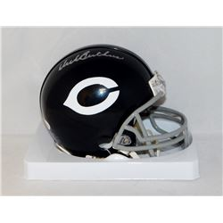 Dick Butkus Signed Bears Throwback Mini Helmet (JSA COA)