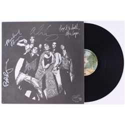 Alice Cooper  Love It to Death  Vinyl Record Album Signed by (4) With Alice Cooper, Michael Bruce, B