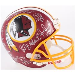 "Redskins ""The Hoggs"" Full-Size Helmet Signed by (11) with R.C. Thielemann, Jeff Bostic, Joe Jacoby,"