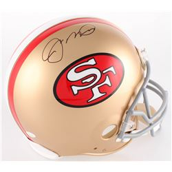 Joe Montana Signed 49ers Authentic On-Field Full-Size Helmet (JSA COA)