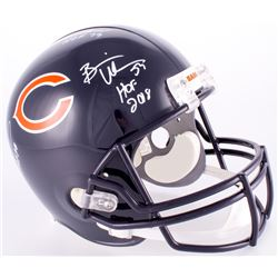 Brian Urlacher, Dick Butkus  Mike Singletary Signed  Inscribed Bears Full-Size Helmet (JSA COA)