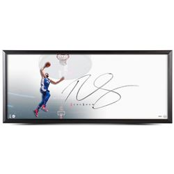 """Ben Simmons Signed Rookie Slam 'The Show"""" 20x46 Custom Framed Lithograph Display (UDA COA)"""