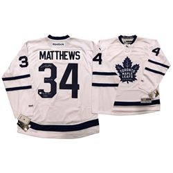 Auston Matthews Signed Maple Leafs Limited Edition Jersey with (3) Inscriptions (Fanatics Hologram)