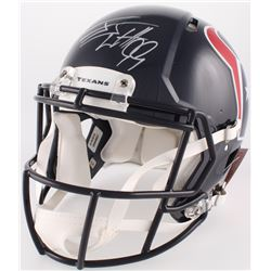J.J. Watt Signed Texans Full-Size Authentic On-Field Speed Helmet (JSA COA)