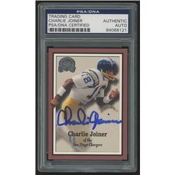 Charlie Joiner Signed 2000 Greats of the Game #67 (PSA Encapsulated)