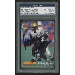 Rashaan Salaam Signed 1995 Classic NFL Rookies #103 AW (PSA Encapsulated)