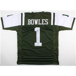 """Todd Bowles Signed Jets Jersey Inscribed """"Go Jets"""" (Beckett COA)"""