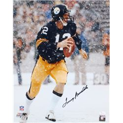 Terry Bradshaw Signed Steelers 16x20 Photo (JSA COA)