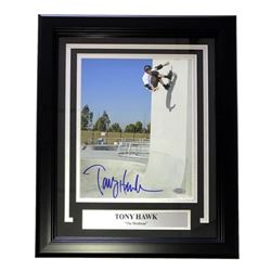 Tony Hawk Signed 14x16 Custom Framed Photo Display (Steiner COA)
