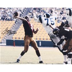 "Sonny Jurgensen Signed Redskins 16x20 Photo Inscribed ""HOF 83"" (JSA COA)"