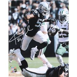 Khalil Mack Signed Raiders 16x20 Photo (JSA COA)
