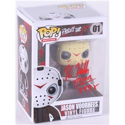 "Kane Hodder Signed ""Friday Th 13th"" Jason Voorhees Funko Pop! Figure Inscribed ""Jason 7,8,9,X"" (JSA"
