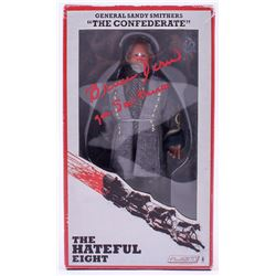 "Bruce Dern Signed ""General Sandy Smithers"" The Hateful Eight Action Figure Inscribed ""Gen. Smithers"""