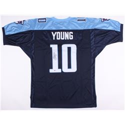 Vince Young Signed Titans Jersey (Beckett COA)