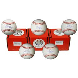 Schwartz Sports 2018 MLB Current Star Autographed Baseball Mystery Box - Series 1 (Limited to 200) -