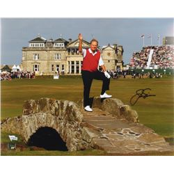 Jack Nicklaus Signed 16x20 Photo (Fanatics  Nicklaus Hologram)
