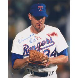 "Nolan Ryan Signed Rangers 16x20 Photo Inscribed ""Don't Mess With Texas!"" (FSC COA  Ryan Hologram)"