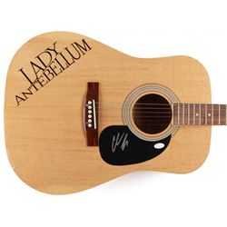 "Charles Kelley Signed ""Lady Antebellum"" Custom Full-Size Acustic Guitar (JSA Hologram)"