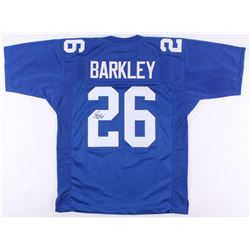 Saquon Barkley Signed Giants Jersey (JSA Signature Debut COA)
