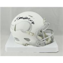 Everson Griffin Signed Vikings White ICE Speed Mini Helmet (JSA COA)
