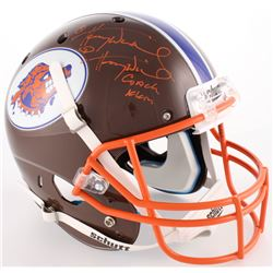 "Henry Winkler Signed ""Waterboy"" South Central Louisiana State University Mud Dogs Full-Size Helmet ("