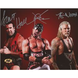 "Kevin Nash, Sean ""X-Pac"" Waltman,   Scott Hall Signed WWE 8x10 Photo (MAB Hologram)"