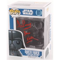 "David Prowse Signed ""Star Wars"" Funko Pop Vinyl Figure Inscribed ""Darth Vader"" (Beckett COA)"