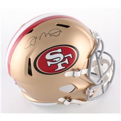 Joe Montana Signed 49ers Full-Size Speed Helmet (Radtke COA)