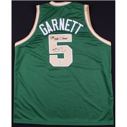 "Kevin Garnett Signed Celtics Jersey Inscribed ""08 NBA Champs"" (PSA COA)"