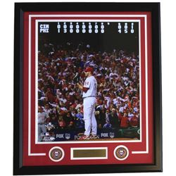 Roy Halladay Phillies 22x27 Custom Framed Photo with Laser Engraved Signature