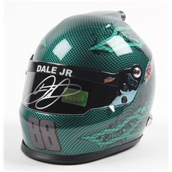 Dale Earnhardt Jr. Signed NASCAR Mountain Dew 1:3 Scale Helmet (Dale Jr. Hologram)