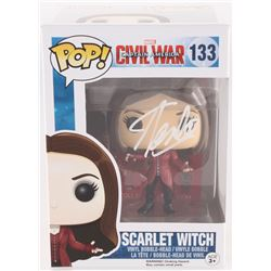 "Stan Lee Signed ""Scarlet Witch"" #133 Captain America: Civil War Marvel Funko Pop Vinyl Bobble-Head F"
