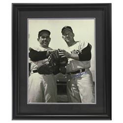 Whitey Ford Signed Yankees 23x27 Custom Framed Photo Display (Steiner Hologram)