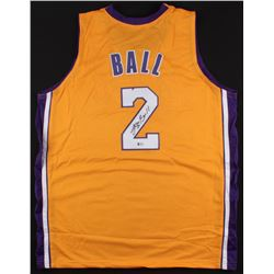 Lonzo Ball Signed Lakers Jersey (Beckett COA)