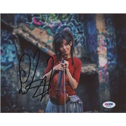 Lindsey Stirling Signed 8x10 Photo (PSA COA)